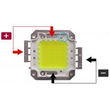 Матрица светодиодная SMD25х25мм 100W