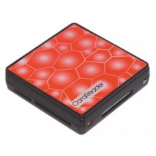 Карт-ридер внешний USB2.0  Konoos UK-15 для SD/MMC/SDHC/MS/M2/XD/TF