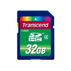 Карта памяти SDHC 32 Gb Transcend класс 4