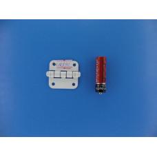 Шарнир  ПН- 40 полимерн.. белый (500шт.)