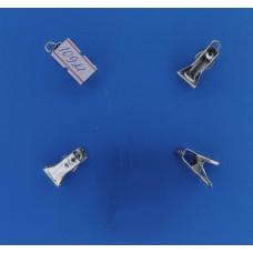 Зажим шторный металлический без кольца 1-08.0270 (уп.200 шт.) (1835)