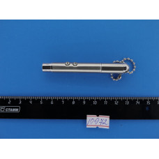 Фонарик брелок ручной  (1 диод + лазер)+ручка №905/ NG 901