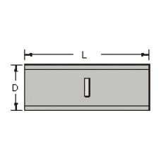 Планка пакетника крепежная  10 см (Дин-рейка) YDN10-00100