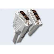Шнур DVI шт. - DVI шт. 1,8м  CC-DVI-6C, 19M/19M,экран,феррит.кольца
