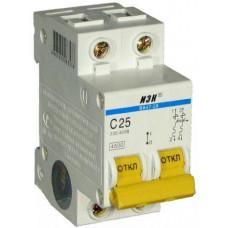 Автоматический выключатель 25А ИЭК ВА47-29 2Р