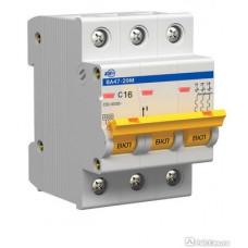 Автоматический выключатель 16А ИЭК ВА47-29 3Р