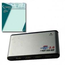 Разветвитель USB (7 входов)  Gembird UHB-C247 + питание