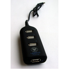 Разветвитель USB (4 входа) Konoos UK-02 (фрегат)