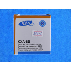 Блок питания Eleca к р/тел  8 S (0,5А - 6 V) КХА-8S