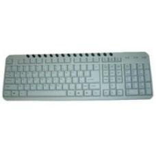 Клавиатура Gembird KB-8300-M-R , PS/2 (белая),15 мультимед.клавиш