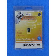 Карта памяти MS-Micro (M2) 1 Gb Sony (без адаптера)