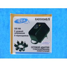 Блок питания Eleca 0,5AS\S 500mA (3-12В) 6 ур.напряж. (стаби-ый)