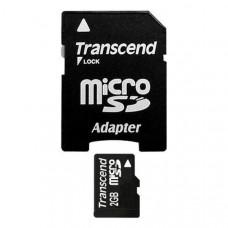 Карта памяти SD-Micro 2 Gb Smart Buy (адаптер)