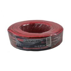 Акустический кабель 2 х 0,5мм  100м красн./черн. /АРС-013/01-6103-6/АС