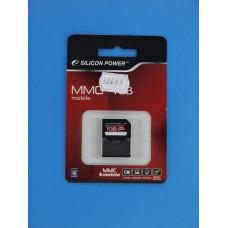 Карта памяти RS-MMC 1 Gb Silicon Power Mobile
