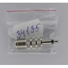 Перех. шт. 3,5 моно - гн. F металл  АРР-326/05-4308-4