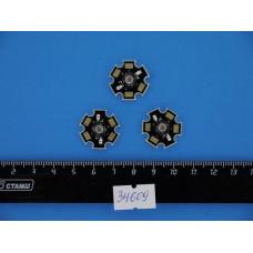 Светодиод 1W желтый МОЩНЫЙ HG-5Y40M-1W 2,2-2,4V