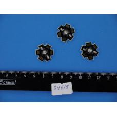 Светодиод 3W синий МОЩНЫЙ HG-5B80M-3W 3,4-3,6V