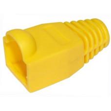 Колпачок для коннектора 8P8C  RJ45 Желтый /05-1203