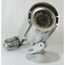 Видеокамера уличная цветная JK-2213 (0Lux, 12л, 20м)