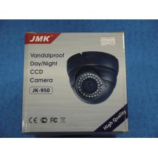 Видеокамера купольная цветная JMK JK-656 (waterproff, антивандал)