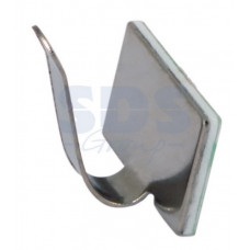 Площадка самоклеющ.для крепл. шлейфа,металл 20 х 10 мм (100шт) 07-2420