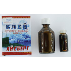 """Клей """"ЭДП-2"""" эпоксидный Айсберг  60г (кор.114шт) г.Бийск"""