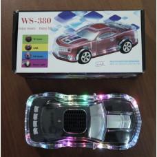 """Колонки MP3  """"автомобиль""""  WS-380  с FM-прием.,USB,SD"""