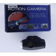 Видеорегистратор для мотоцикла и спорта HVR-1068  на шлем