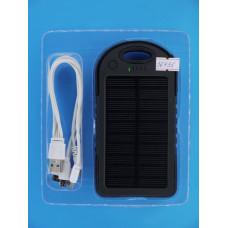 Аккумулятор solar charger 5V/200mA  5000mAh=3000mA на 2 USB 5V/2*1A