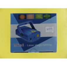 Проектор лазерный голограф. AB-0019 /NG-09/NG (узор-хаотичные частицы)