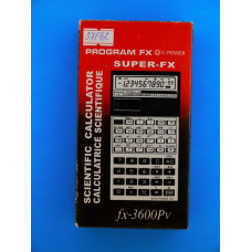 Калькулятор SUPER FX-3600PV  (10 разр.,2-х строчн.,инженерн.)