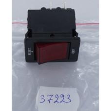 Выключатель-автомат с подсв. 28мм (Красн) 4pin (15A/250V)36-2630