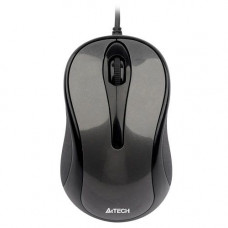 Мышь A4-G-7-350N-1 беспров.,графит,USB,V-Track,на люб.поверх., 2000dpi