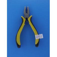 Плоскогубцы 130 мм желто-черные