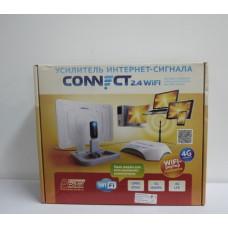 """Усилитель интернет-сигнала """"CONNECT"""" 2.4 USB на 4 порта WiFi,4G,с роут"""