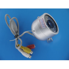 Видеокамера купольная цветная JMK JK-658 (waterproff, антивандал)