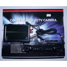Видеокамера цветная JK-152Т авто (CMOS 420L 145gr) (заднего вида, зерк