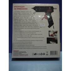 Пистолет клеевой большой 60 Вт (толстый клей) в кейсе /12-0111