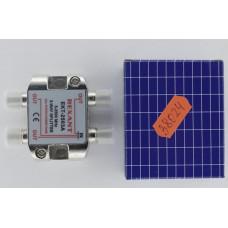 Разветвитель на 3 TV  5-2500 MHz металл СПУТНИК Rexant (05-6202)