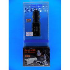 Адаптер 12 => 2*USB (в прикур.без шн.) 5V/3,1А (2,1А-1*,1А-2*) EP-520