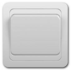 Выкл. С/У 1-кл. 10А Classico белый (2021) керамика