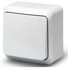 Выкл. О/У 1-кл. 10А BOLLETO белый (7021)