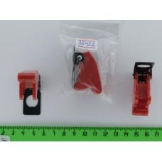Крышка на тумблер автомобильный SAC-01,красный