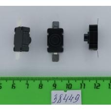 Кнопка KAN-28 с фиксацией ON-OFF 2pin 1A250V