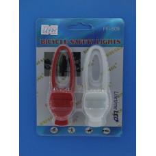 Габаритные фонари для велосипеда прорезинен. FF-509 (петля)