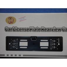 Камера заднего вида в рамке номерного знака C004L/E316/CMOS(PC10.30)17