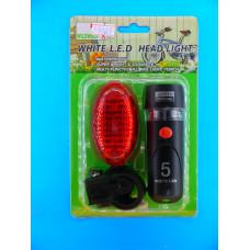 Габаритные фонари для велосипеда М09-1А