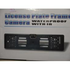 Камера заднего вида в рамке номерного знака C004L/E310/CMOS(PC10.30