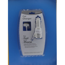 Шнур авто шт. прикуривателя - шт.iPhone4 вит 5.1V 1A EKA- Q13/4 АВ-22